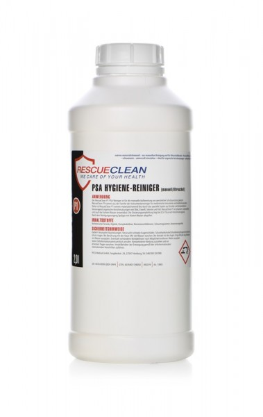 RESCUECLEAN P1 PSA Hygiene-Reiniger, manuell